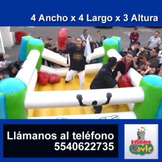 02 | Ring de Box Inflable | Naucalpan