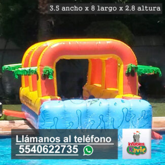 renta de juego inflable acuatico splash naucalpan | Splash | Inflables Kavic
