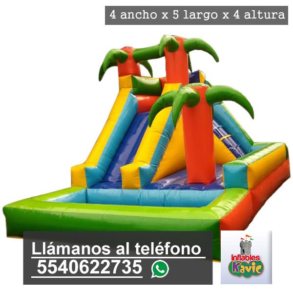 Juego Acuatico La Isla Renta De Juegos Inflables