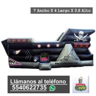 renta de juego inflable barco pirata naucalpan | inflables kavic