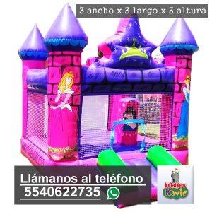 renta de juego inflable castillo de princesas de disney naucalpan | Inflables Kavic