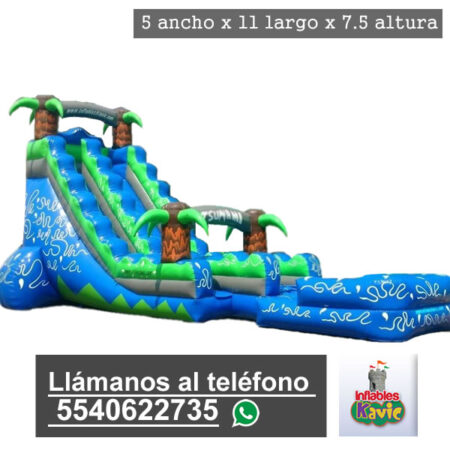 renta de juego inflable tsunami naucalpan