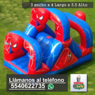 Inflable del hombre araña niños | naucalpan