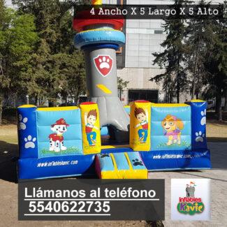 Renta de juegos inflables para chavitos paw patrol | Naucalpan