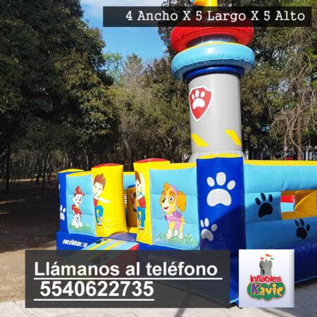 Renta de juegos inflables para chavitos paw patrol   Naucalpan