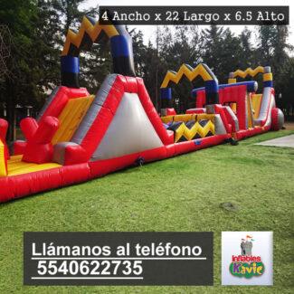 Juego Inflable Combo El Rayo | Naucalpan