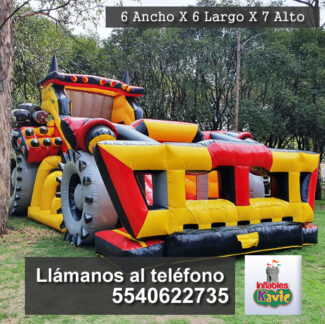 renta inflable el destructor kavic naucalpan
